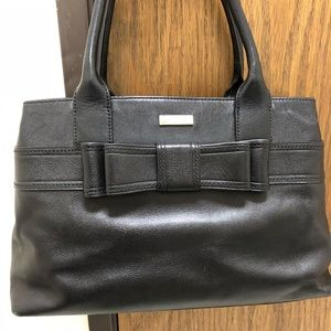Kate Spade ♠️ Tote w/ bow on front.